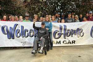 In early March, Kilmanagh resident Gary Forster developed a COVID-19 infection and was soon hospitalized. The 65-year-old returned home Wednesday with the help of a large group of well-wishers and an escort from an Owendale Fire Department engine.