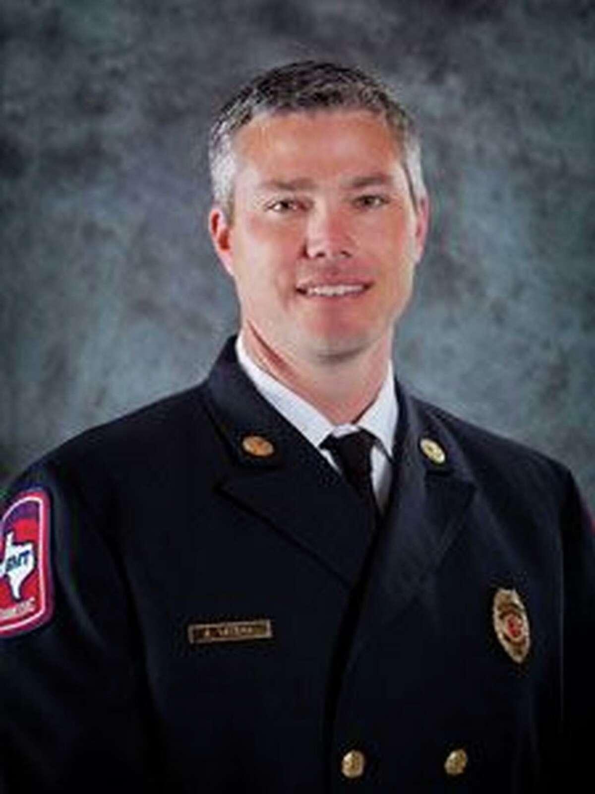 West U Fire Chief Aaron Taylor
