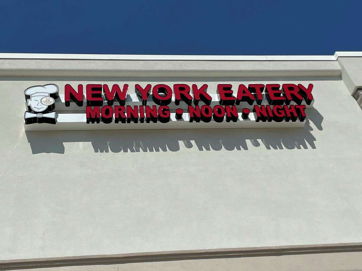 New York Eatery is located at 5422 Bellaire Blvd. at the intersection with Chimney Rock Rd.