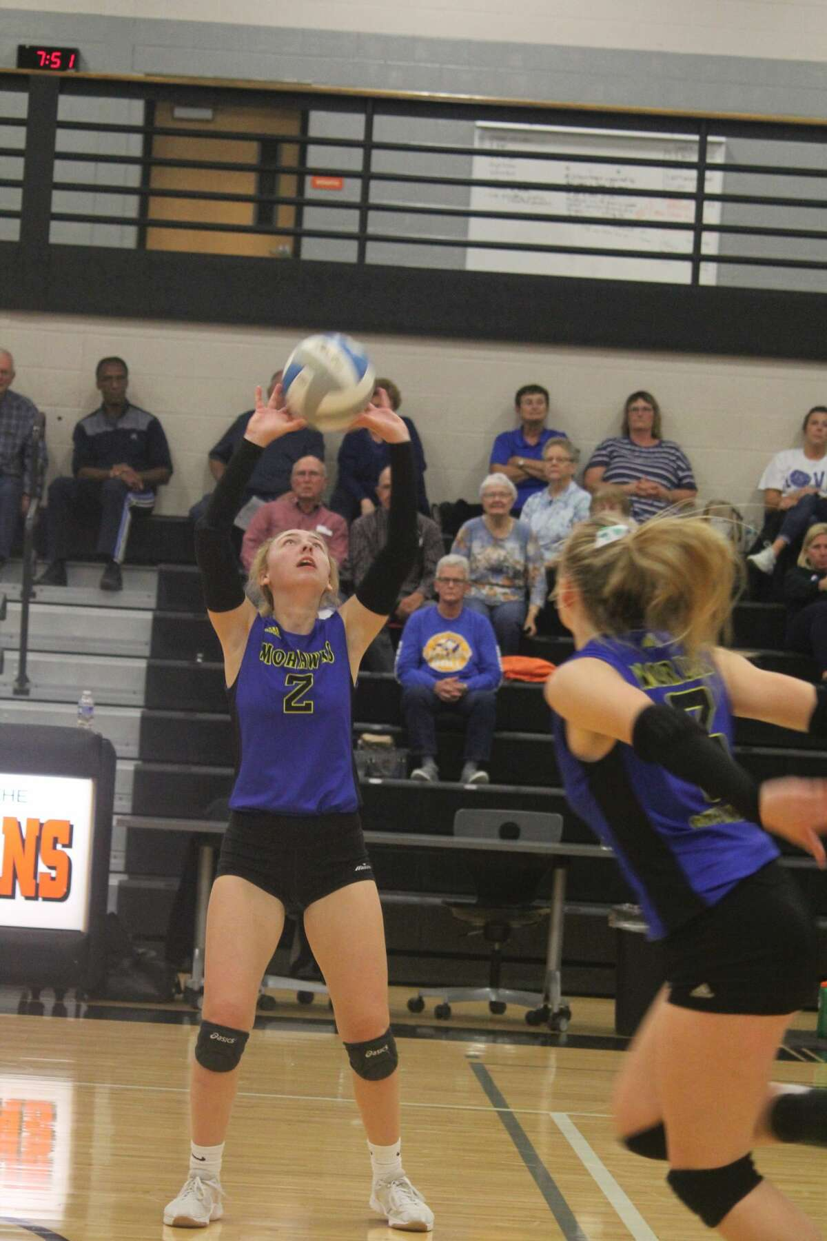 It was all Morley Stanwood in a sweep over White Cloud in girls volleyball action on Wedmesday.
