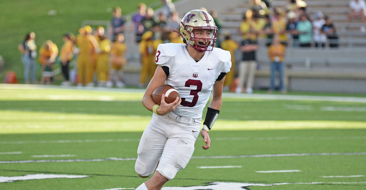 Cy Woods edged Langham Creek 17-16 in District 16-6A on Thursday night, Oct. 7, at Cy-Fair FCU Stadium.