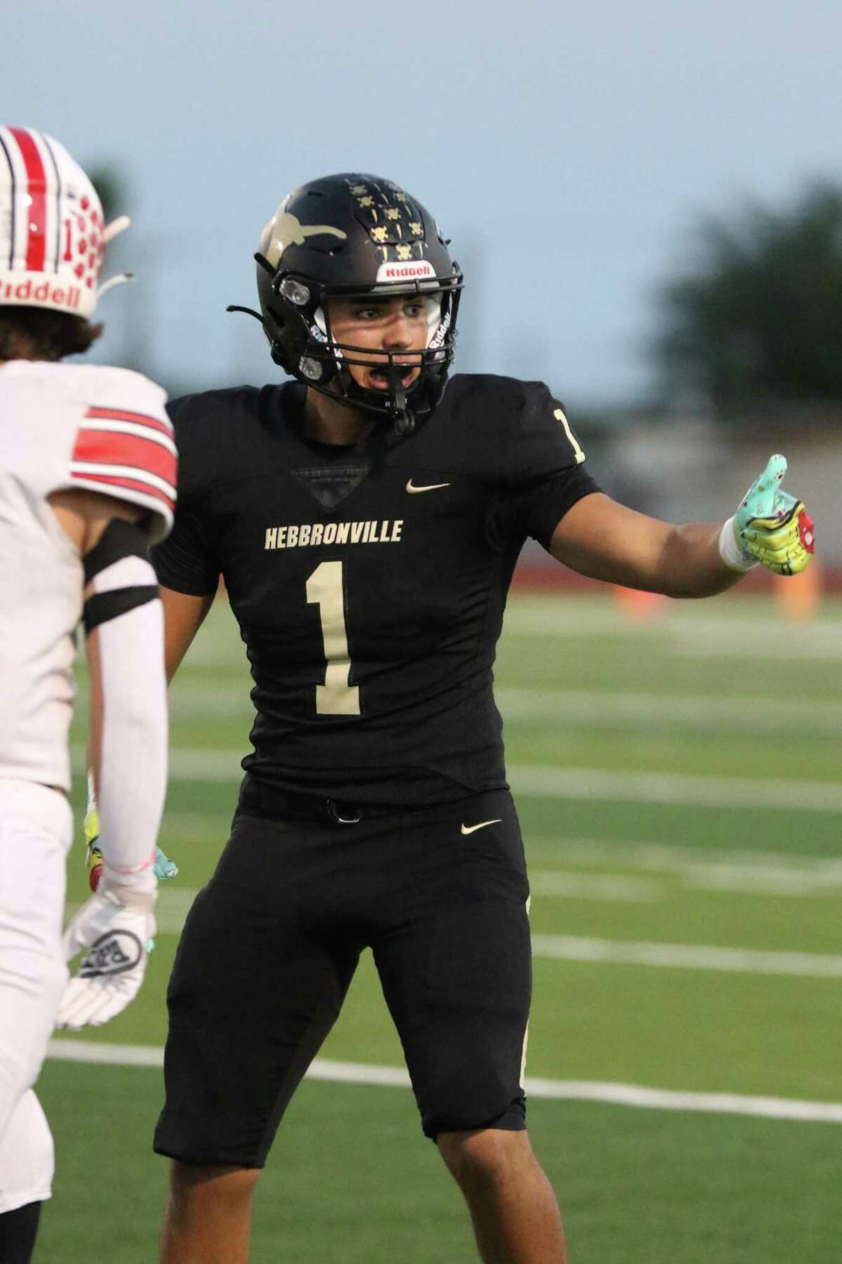 Hebbronville Erick Perez's father and uncles all played for the Longhorns. The senior is hoping to help lead his team to a district title this season, and hopefully, an undefeated record.