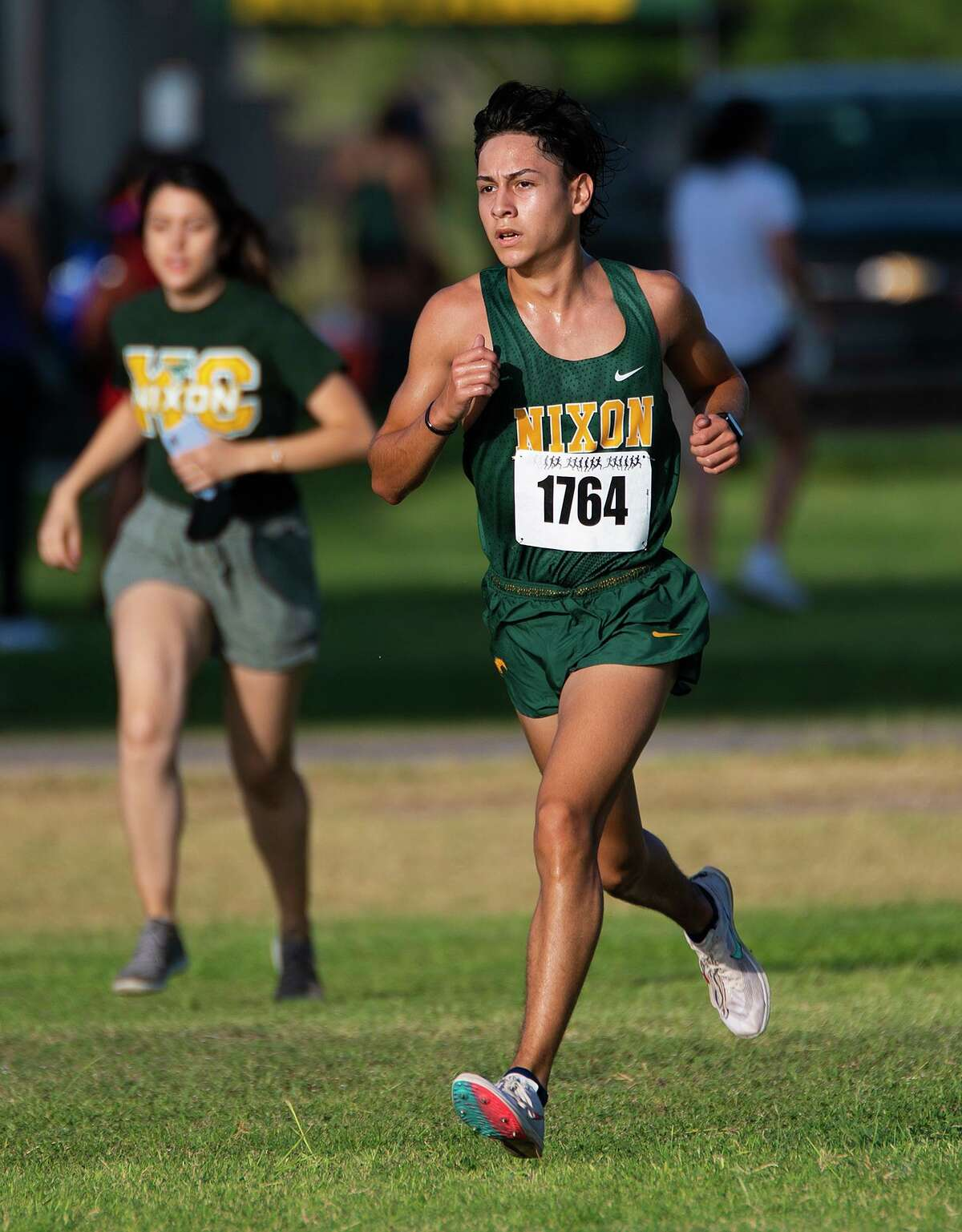 Nixon High School's Margarito Benavides is expected to take home the individual title in the boys race at Thursday's District 30-5A meet.