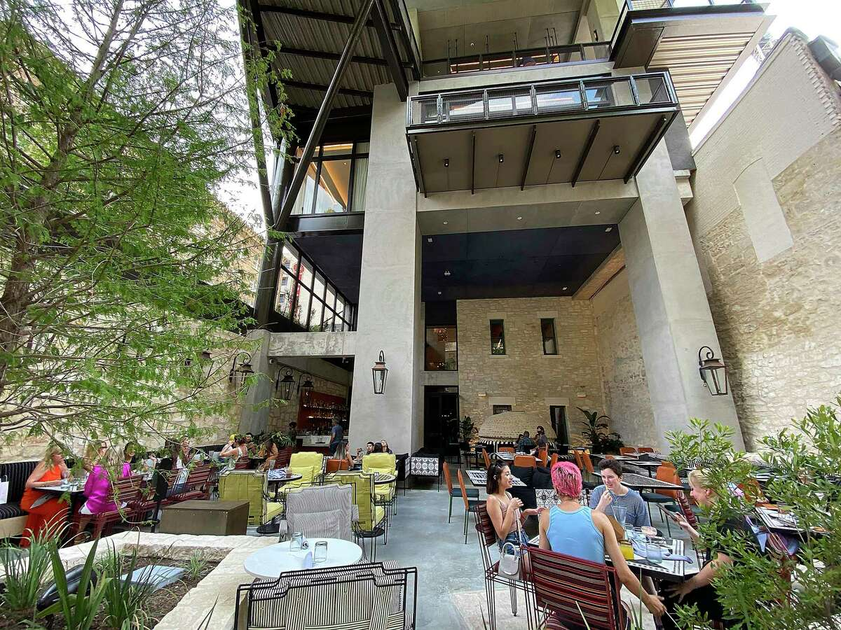 Domingo Restaurante at the Canopy by Hilton San Antonio Riverwalk hotel features Mexican and Southwestern dishes and a full bar.
