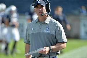 Yale Bulldogs head coach Tony Reno.