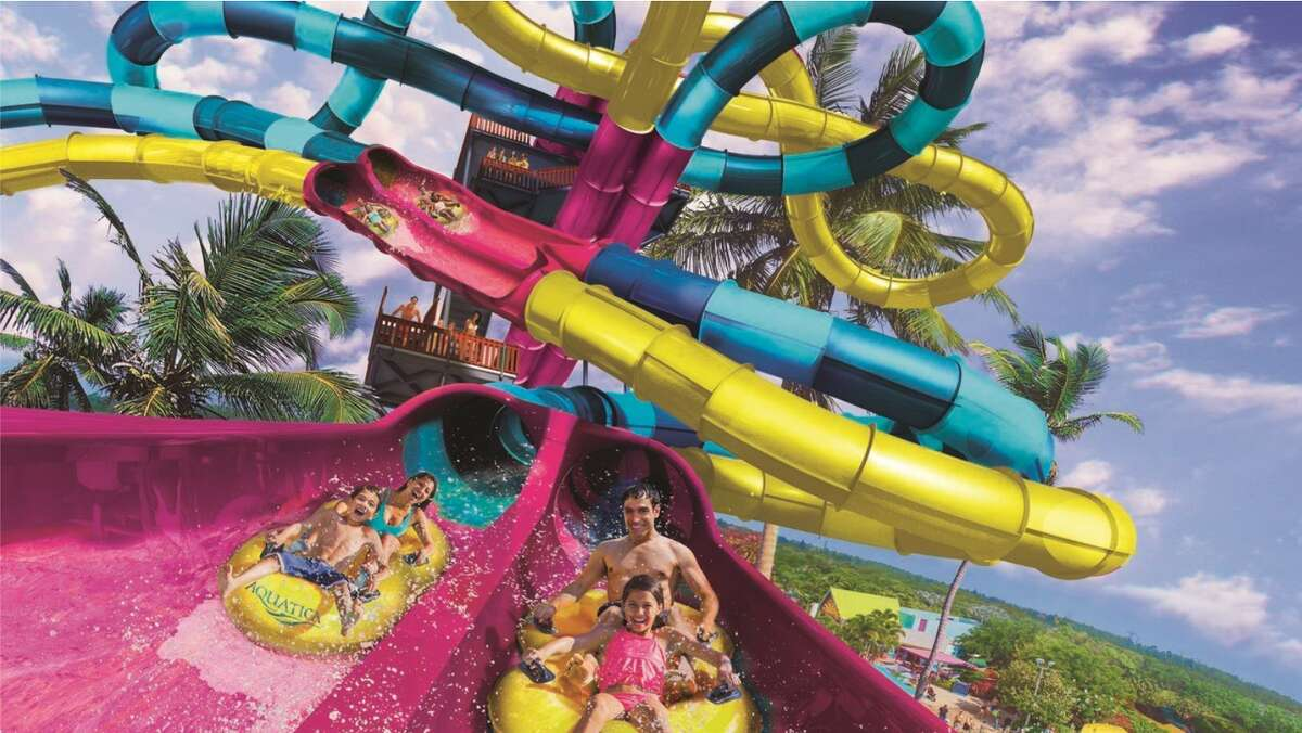 A new way to race your family and friends has been unveiled at Aquatica.