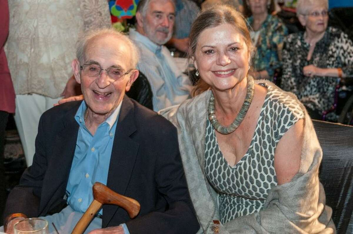 Dr. David Gottlieb & Brenda Gottlieb are pictured at The Woodlands Waterway Arts Festival's Art Dash Party in 2016. The Woodlands Arts Council announces a new microgrant in Dr. Gottlieb's name.