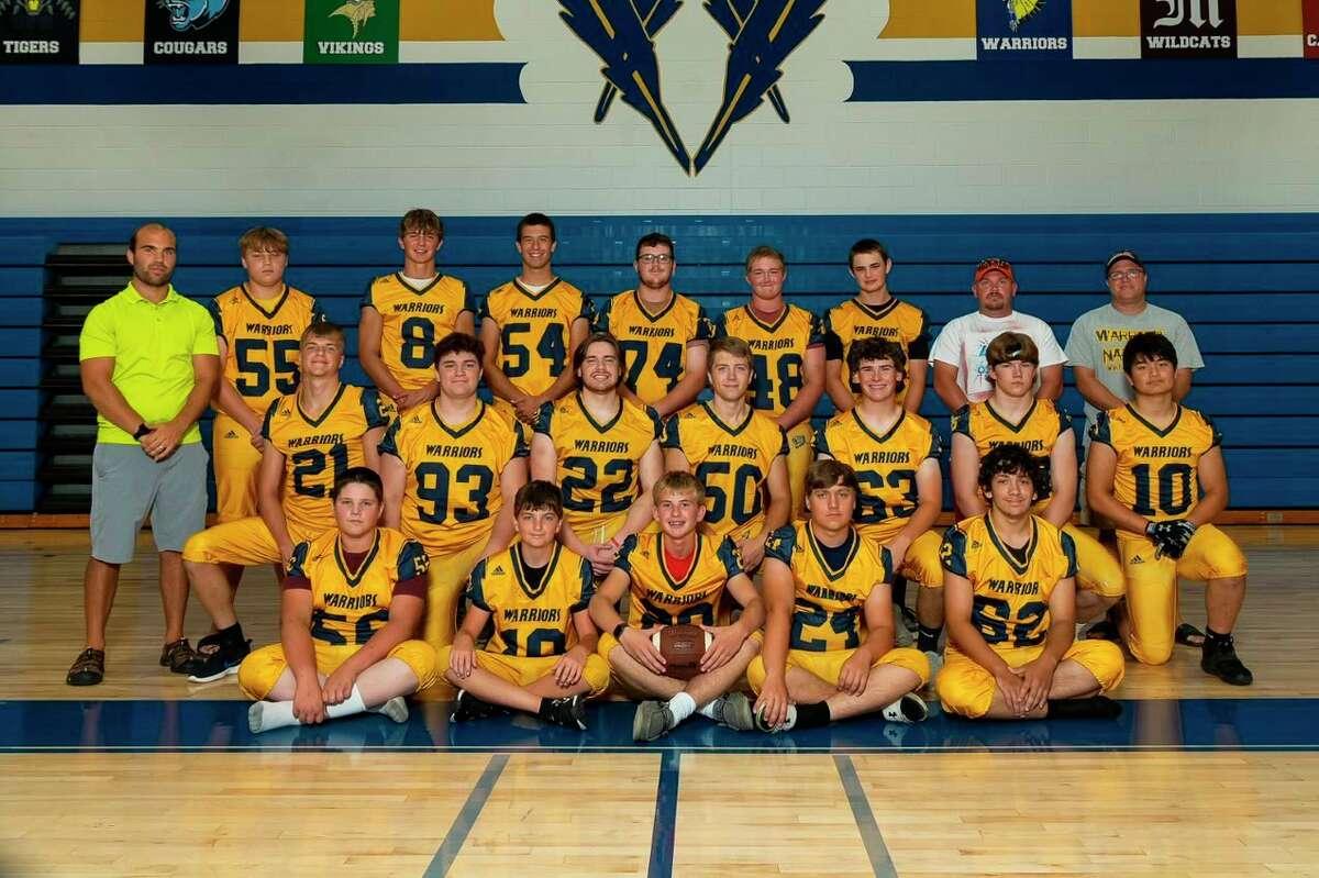 The North Huron football team. (Courtesy Photo)