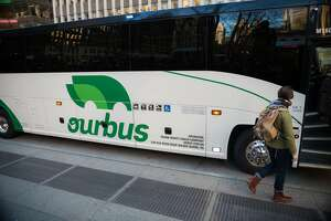OurBus is adding bus service west of the Hudson River, but can it compete with well-known Trailways, who has served the area for more than 90 years?