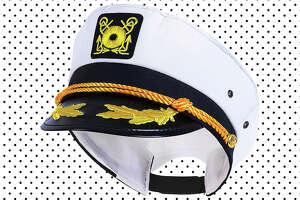 Adjustable adult captain's yacht cap