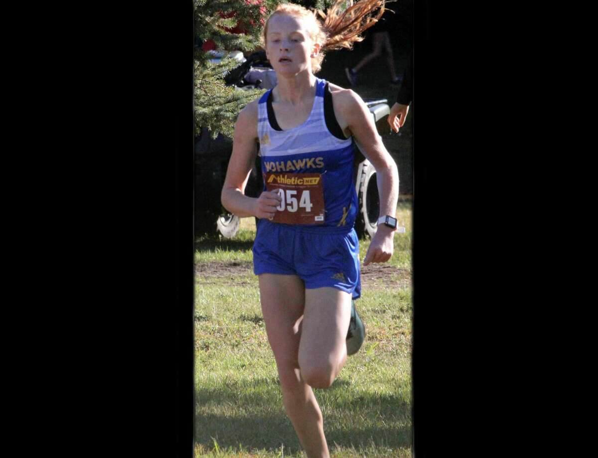 Miranda McNeil is the new girl record-holder at Morley Stanwood cross country.