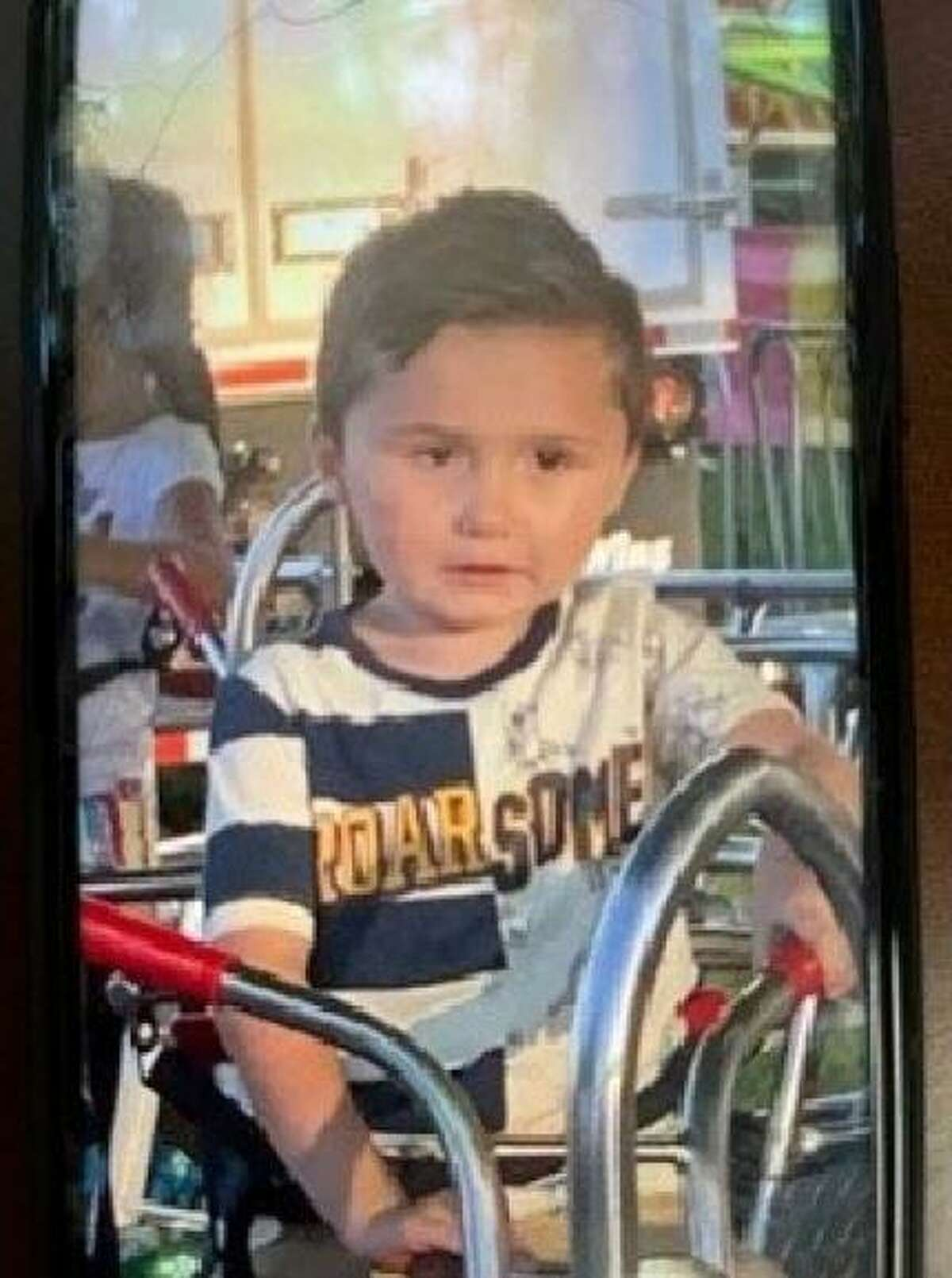 Austin Freytag, 3, was last seen Wednesday. Police believe he is with his mother.