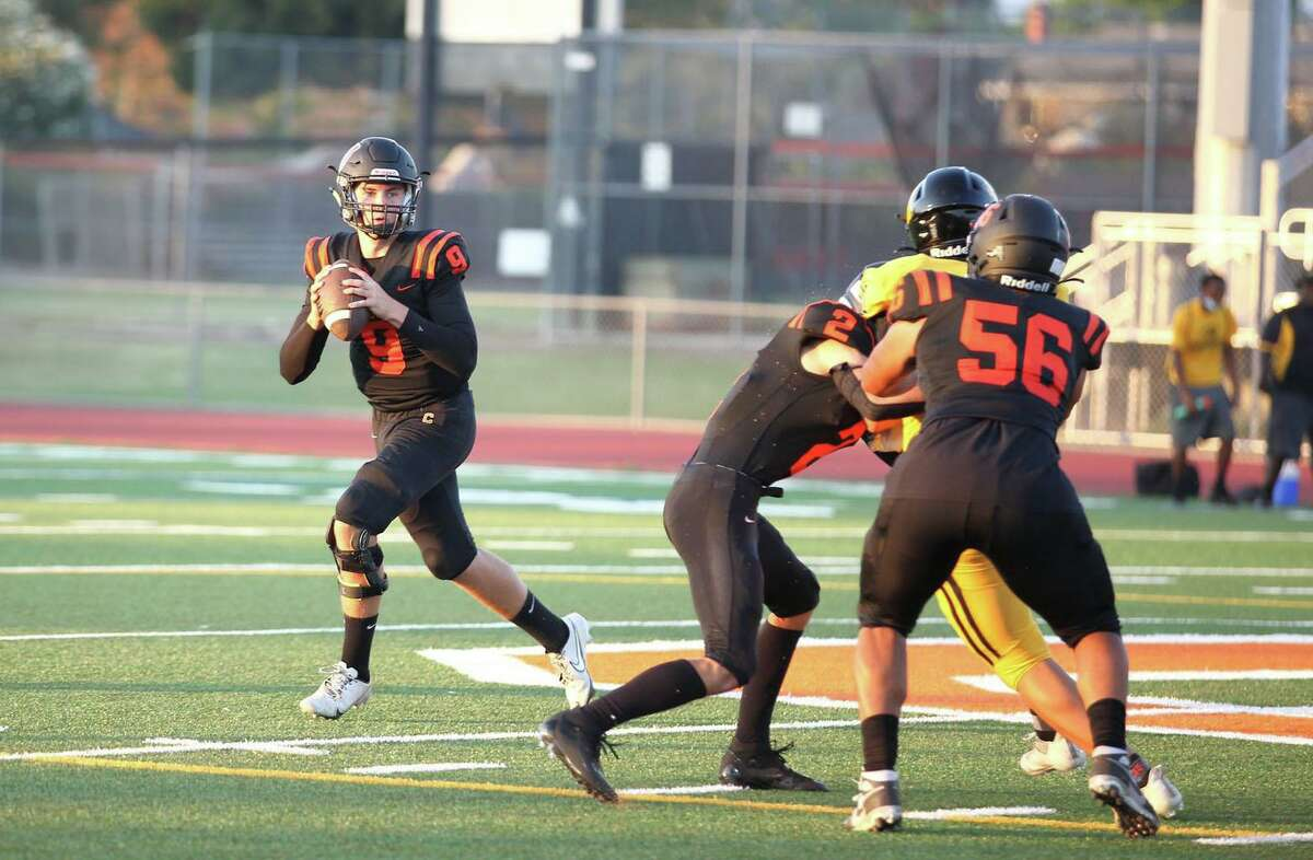 California-San Ramon quarterback Teddy Booras has thrown for 1,202 yards and 17 touchdowns in his team's first six games.