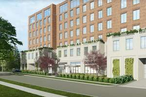 A proposed building on Church Street would house 192 apartments in a building 84 feet tall.