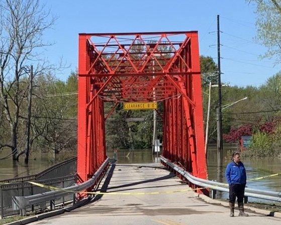 Currie Parkway Bridge cerrado hasta la primavera de 2022