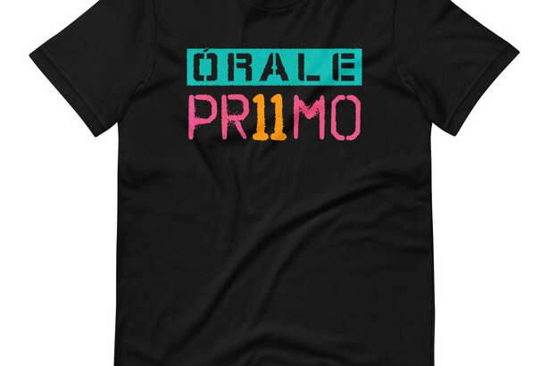 """A new spraypaint-style """"Orale Primo"""" shirt is up for grabs thanks to mega fan Dakota Mitchell. Mitchell, who grew up in the San Antonio, area has his finger on the pulse of what Spurs fans want. Embedded in the Spurs Twitter world, he's well-versed in the online jokes and terms of endearment tiedto the Spurs."""