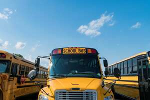 School Buses on the ready