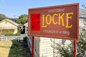 Welcome to Locke, a historic Chinese settlement in the Sacramento River Delta.