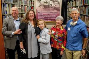 """TAMIU unveiled the Dr. Frances """"Panchito"""" Gates Rhodes Children's and Young Adult Literature collection on Friday, that holds over 15,600 books."""