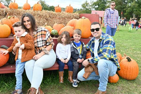 Guests picked their own pumpkins at Jones Family Farms in Shelton, Conn. on Sunday, Oct. 17, 2021. The farm also offered hayrides, corn mazes and fresh apples at its Market Yard. Were you SEEN?