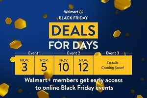 Walmart Black Friday Deals for Days timeline.