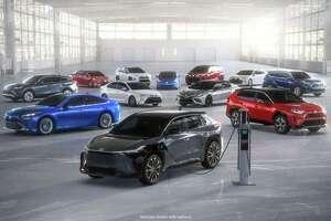 Toyota's electrified lineup
