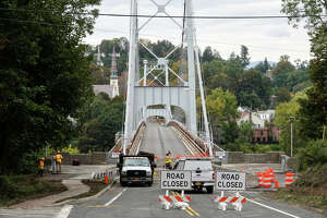 The Wurts Street Bridge, also known as the Kingston-Port Ewen Suspension Bridge, has been closed since September 2020, leaving residents to use Route 9W to travel between the City of Kingston and the Town of Esopus.