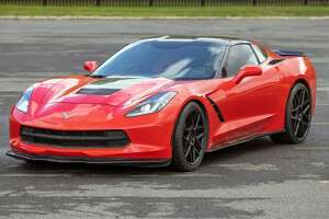 This Corvette is among the items being auctioned off by OGS on Wednesday.