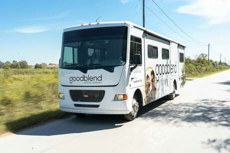 Goodblend Texas, a San Marcos-based medical marijuana company, is bringing its mobile dispensary called the Cannabus to San Antonio. The 36-foot bus has a miniature retail shop and an area for speaking with a physician to obtain a prescription.