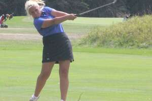 Kiali Stout competed for Big Rapids golfers in the state finals. (Pioneer file photo)