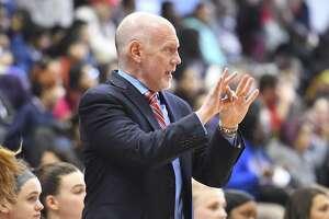 Fairfield women's basketball coach Joe Frager.
