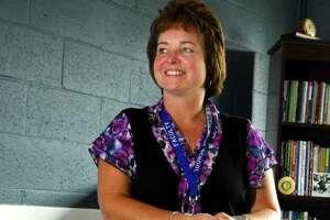 Pamela Bellmore Gardner when she took over as West Haven High School principal.