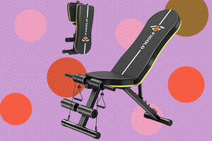 Foldable weight bench - $54.17