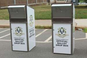 Absentee ballot boxes like these are again an important part of the local election process, according to town and city clerks.