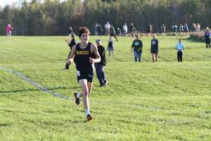 The Manistee boys and girls cross country teams competed at its final conference meet of the season.