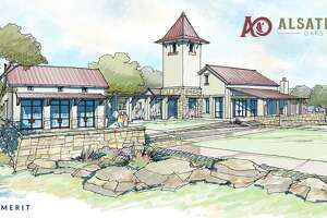 On top of being beneficial to Castroville's eastern growth, the amenity center for Alsatian Oaks will also mimic the sloped red roof tops and stucco walls that are reminiscent of the city's settler-era structures.