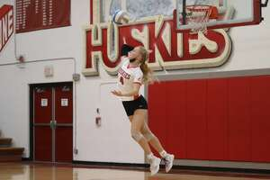 Benzie Central hosts Onekama in what was the final conference volleyball match of the season for both teams on Oct. 19.