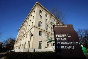FILE - This Jan. 28, 2015, file photo, shows the Federal Trade Commission building in Washington. Nearly 700 Connecticut residents will get payouts under a new settlement order, the federal commission announced Wednesday, Oct. 20, 2021