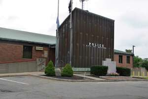 The Milford, Conn., police headquarters building.