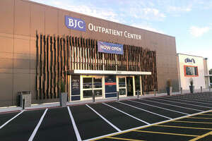The new, 40,000-square-foot BJC Outpatient Center facility, 2122 Troy Road, next to Kohl's in Edwardsville had its ribbon cutting Wednesday.