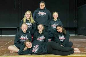 Cass City's girls gymnastics team from last year, which coach Kathy Bouverette acknowledged had a small number due to COVID. Cass City will co-op with Huron County schools for their gymnastics team again this year, with Bouverette hoping more girls take part. (Courtesy Photo)
