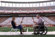 Gov. Greg Abbott recently had an interview with alt-right website Breitbart at DKR Stadium in Austin.