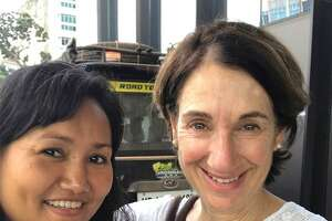 Norwalk resident Emily Kelting met May's mother Soe while on a photography tour through Myanmar in January 2020. The two women kept in touch, and Kelting has been working to help her family get student visas to come study in America.