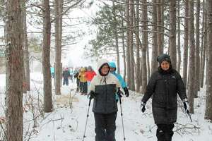 Jessica Scharp is shown (right) in this 2018 Snowshoe Stampede file photo.Scharp was well known in the area, especially for her work as president and founder of the Stomp Out Cancer Fund and the lives she touched through the nonprofit and her advocacy work helping people who have cancer.(File photo)
