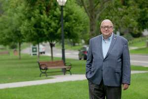 Ted Hine, running for mayor of New Milford