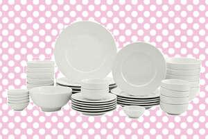 42-piece dinnerware set at Macy's .