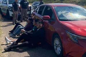 The Zapata County Sheriff's Office halted the human smuggling attempt of two Mexican nationals and two Brazilian nationals on Wednesday.