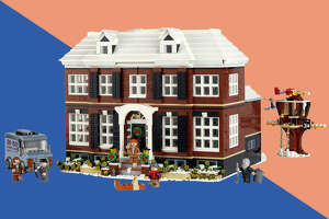 LEGO replica of the McCallisters' house