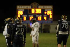 The Manistee Chippewas lost, 32-28, against Tri-County on Friday night.