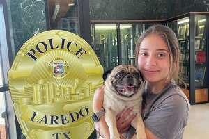 Manny se reunió con su dueña el viernes 22 de octubre tras ser localizado por el Departamento de Policía de Laredo.